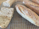 Sourdough flutes