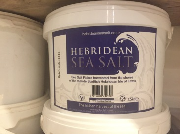 Hebridean Sea Salt - our old supplier