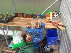 Teaching the next generation to plant seeds