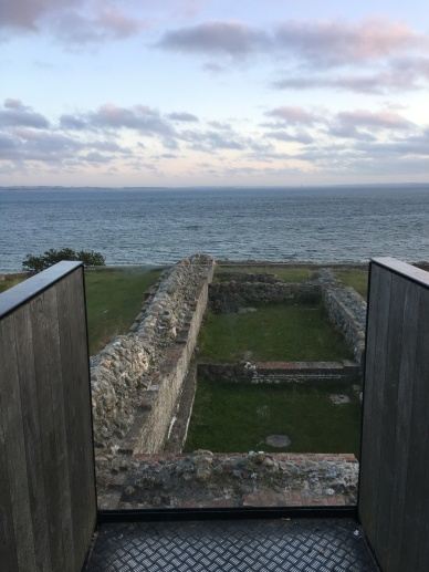 Looking out from Kaló Castle